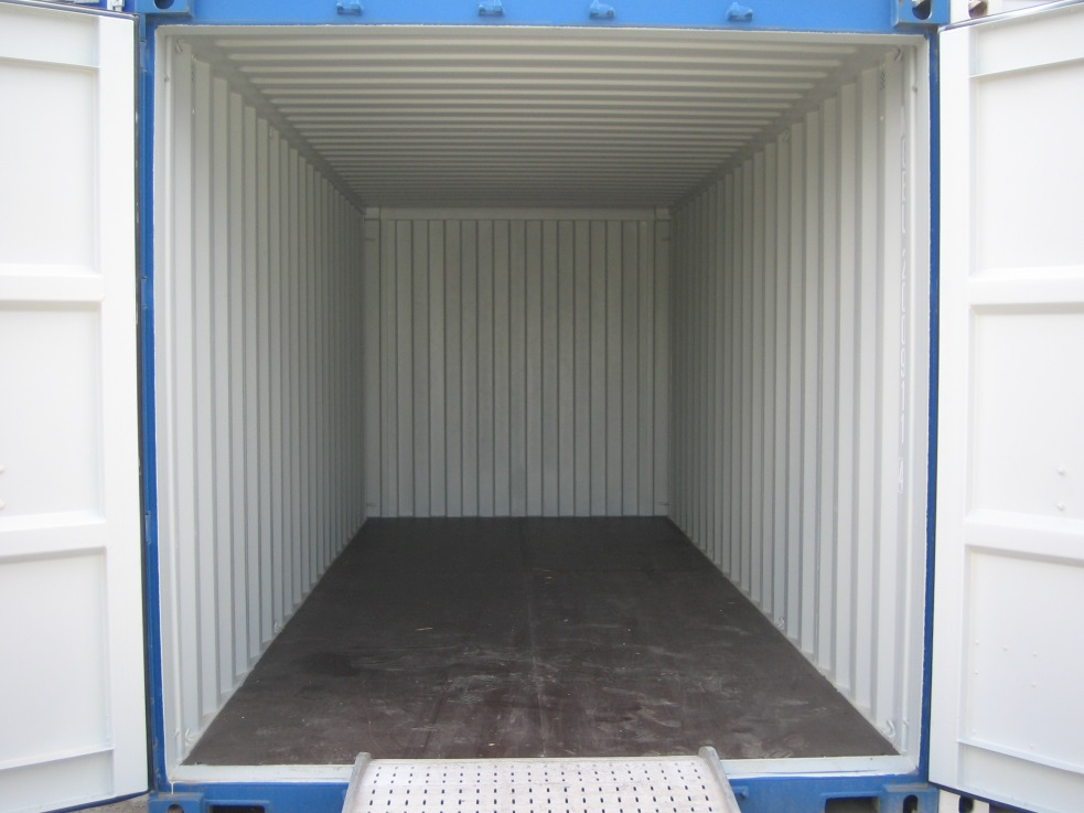 20 ft steel storage container interior, 20 ft shipping container interior, 20 ft cargo container interior, 20 ft conex container interior