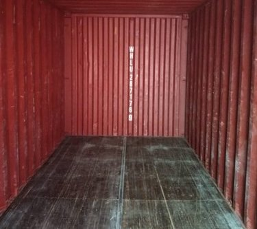 cargo worthy container interior